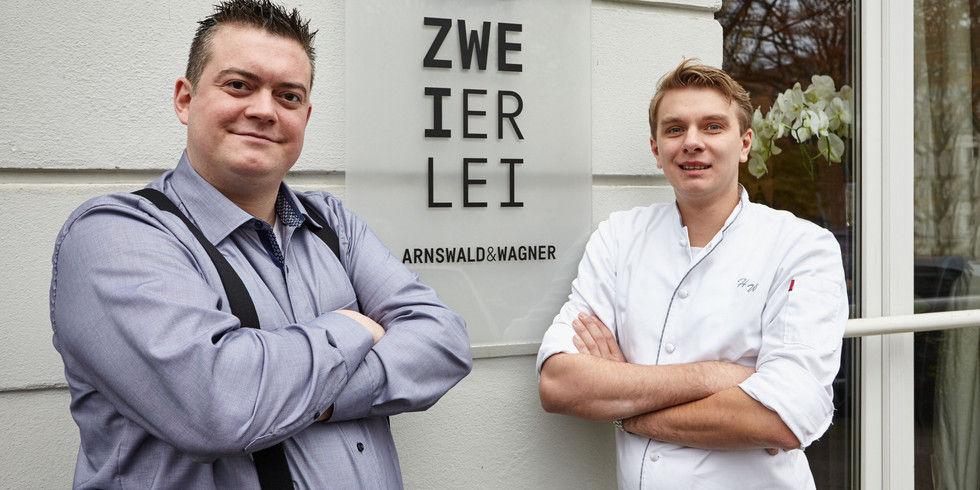 Benjamin Arnswald und Hagen Wagner
